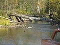 Река Лемеза и разрушенный мост - panoramio.jpg
