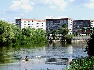 Styr River - Image: Река Стырь в Кузнецовске летом