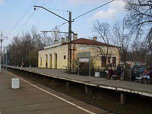 Taytsy - Taitsy railway station.