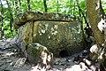 Хаджохский дольмен фасад. Каменномостский.JPG