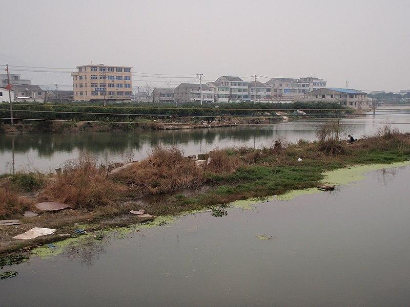 File:三垟湿地上垂钓的人 - panoramio.jpg