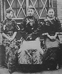 川岛芳子, 正珠尔扎布和米山莲江.jpg