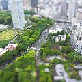 東京タワーから Miniaturize mode. Ricoh CX3 (14752139114).jpg
