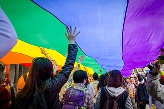 Pride parade - Hong Kong pride parade 2014
