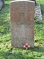 -2020-12-28 CWGC gravestone, Gunner J. Clegg, Royal Artillery, Cromer town cemetery.JPG