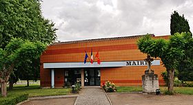 Mairie d'Angeville.