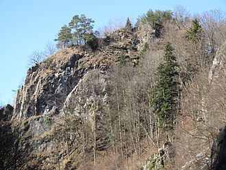 Falkenstein Castle (Höllental) - Image: 02, Falkenstein Höllental