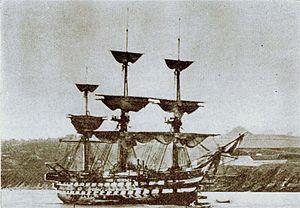 Suffren-class ship of the line - Image: 03 inflexible