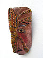 07 - Mexiko mask shown Conquistador eaten by an insect.JPG