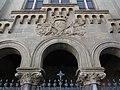 093 Església del convent de les Carmelites (Vic), detall de la façana.jpg