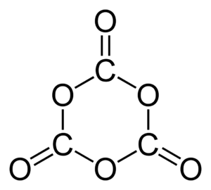 1,3,5-Trioxanetrione - Image: 1,3,5 trioxanetrione 2D