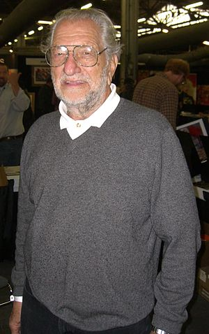 English: Comic book creator Joe Kubert at the ...