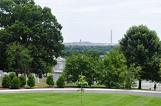 Arlington County, Virginia - Arlington National Cemetery sits on land confiscated from Confederate General Robert E. Lee