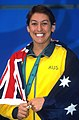 141100 - Swimming Priya Cooper medal podium - 3b - 2000 Sydney podium photo.jpg