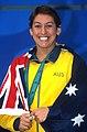 141100 - Swimming Priya Cooper medal podium - 3b - 2000 Sydney podium photo.jpg