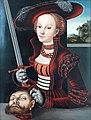 1530 Cranach d.Ä. Judith mit dem Haupt des Holofernes Jagdschloss Grunewald anagoria.jpg