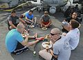 15th MEU Marines, Sailors enjoy an afternoon at steel beach 150604-M-TJ275-124.jpg