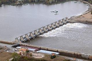 W. D. Mayo Lock and Dam