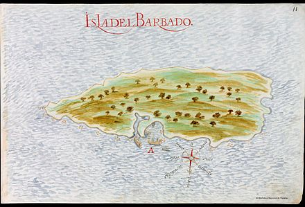 The Portuguese Empire claimed Barbados from 1532 until 1620.