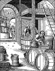 A 16th century brewery.