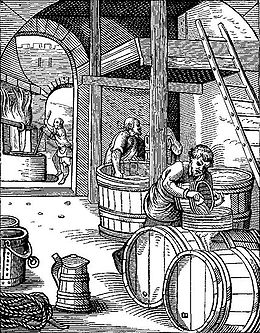 A 16th century brewery