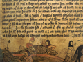 16th century Icelanders cutting a whale AM345fol.png