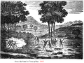1833 woodcut of Indian fight from Casket & Saturday Evening Post.png