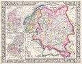 1864 Mitchell Map of Russia, Scandinavia, Denmark, Holland and Belgium - Geographicus - Russia-mitchell-1864.jpg