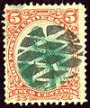 1881 Guatemala 5C Yv24 oblMuette.jpg