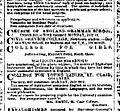 1884 07 26 Sydney Morning Herald Advertisement College for Girls Jeffrey Street Kirribilli.jpg