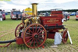 Shand Mason - 1889 steam pumper, Pride of Ashburton