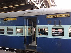 Gujarat Queen - Gujarat Queen - 2nd Class coach