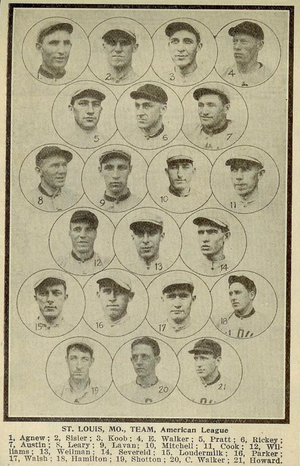 1915 St. Louis Browns season - The 1915 St. Louis Browns.