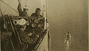 1918 view from French dirigible