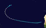 1927 Atlantika uragano 2 track.png
