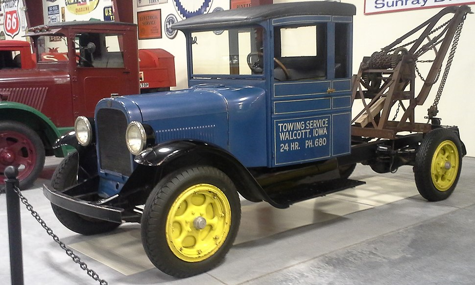 1927 Graham BB 1 Ton at Iowa 80 Trucking Museum