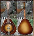 1930 National Triolian resonator mandolin