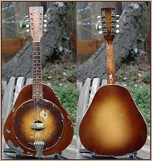 Resonator mandolin