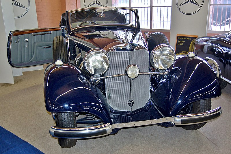File:1937 Mercedes-Benz 540K Cabriolet B, Fox Classic Car Collection, 2008.JPG