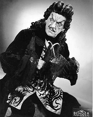 Peter Pan (1950 musical) - Boris Karloff as Captain Hook in the 1950 musical production of Peter Pan
