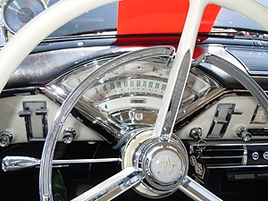 Mercury Montclair - Image: 1956 Mercury Montclair 3 tier dash