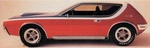 """AMC AMX-GT - Image: 1968 AMC AMX GT Show Car """"Second Type"""""""