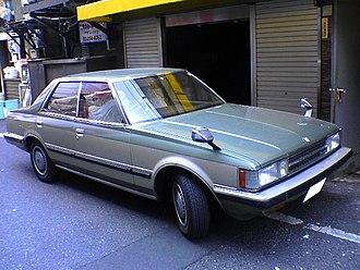 Toyota Cresta - Image: 1980 1984 Toyota Cresta (X50 X60) 01