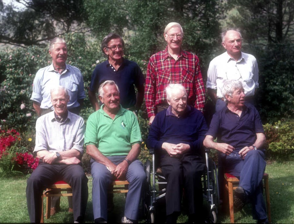 1990 reunion of the Kangchenjunga climbers