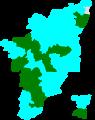1991 tamil nadu lok sabha election map by parties.png