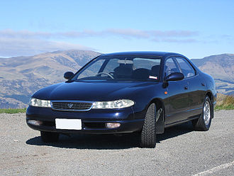 Ɛ̃fini - Image: 1992 Ẽfini MS 8 2.5 V6 front
