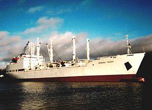 Das Kristall Schiff Hamburg Trader