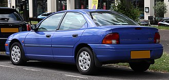 Chrysler Neon - 1997 Chrysler Neon LX saloon (UK)