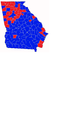1998 Georgia Gubernatorial Results By County.png