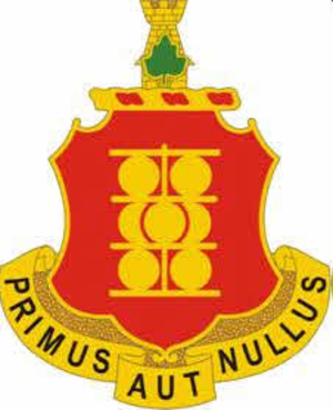 1st Field Artillery Regiment (United States) - Image: 1 Field Artillery Regiment DUI